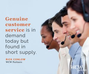 WCW, GenuineCustomerService