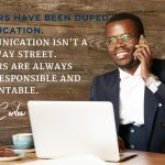 Communication is More than a Two-Way Street