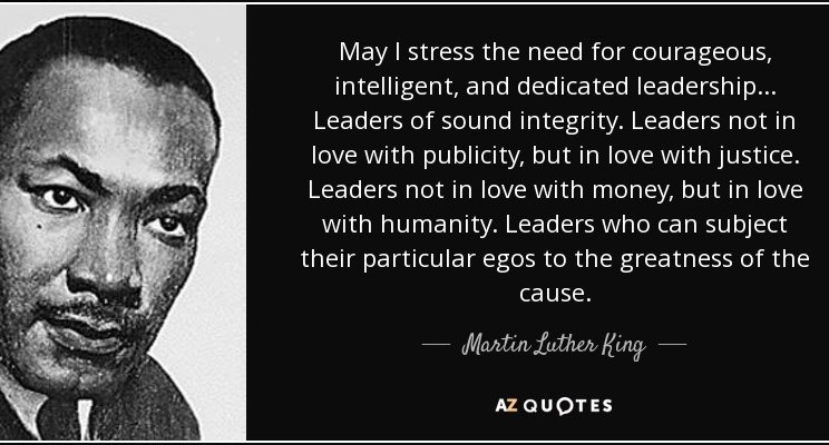 Dr. King on Leadership by Rick Conlow