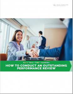 How to Conduct and Outstanding Performance Review by Rick Conlow