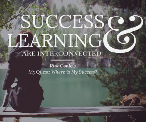 Winning: Success and Learning are Interconnected