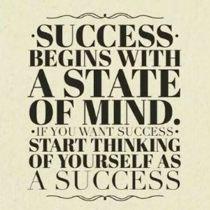 Success is mindset.