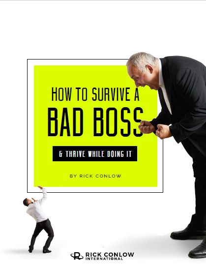 How to Survive a Bad Boss Rick Conlow