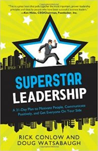 Want to accelerate your leadership and coaching skills? See this complimentary guide, How to Motivate People: 10 Keys to Employee Engagement.  Do you want a proven game-plan for career success? If so, check out Rick's Superstar Leadership book.