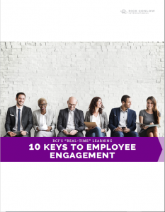 10 Keys to Employee Engagement by Rick Conlow