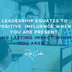 Defining Your Leadership Legacy